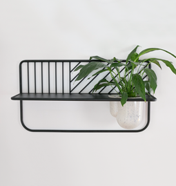 Wall shelf Rousseau - black