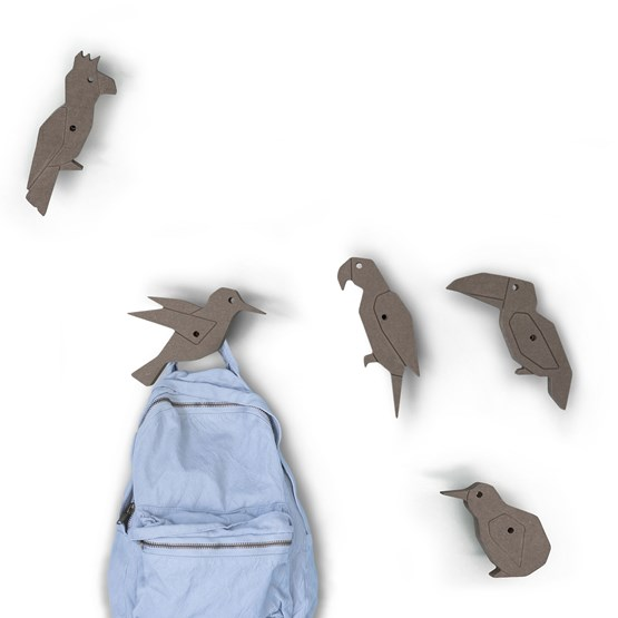 Bird Coat Hook  - Design : Studio Ruthy Design