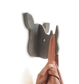"""RIXIE"" Rhinoceros Coat Hanger"