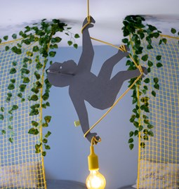 ABOU Monkey pendant light