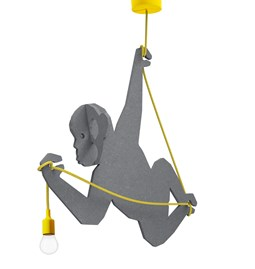 """RAFIKI"" Monkey pendant light"