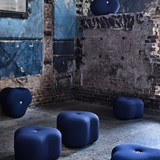 Poppy Bloom Stool - blue 7