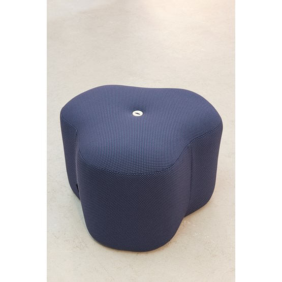Poppy Bloom Stool - blue - Design : Design By Nico