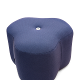 Poppy Bloom Stool - blue 8