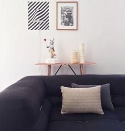 MIX&MATCH ethnic line linen cushion - Designerbox X CELC