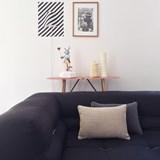 MIX&MATCH ethnic line linen cushion - Designerbox X CELC 2