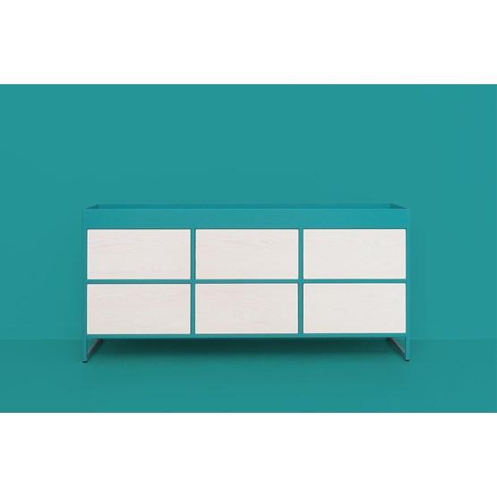 RAY Sideboard - turquoise blue - Design : JOHANENLIES