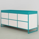 RAY Sideboard - turquoise blue 5