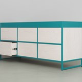 RAY Sideboard - turquoise blue 6