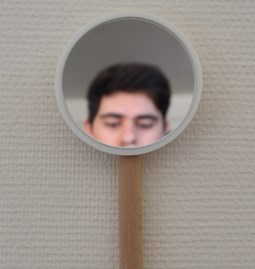 Mirror MIMI - Beech