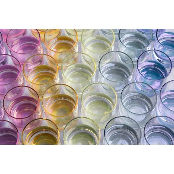 Glasses IRIDE - glass - Design : KANZ Architetti