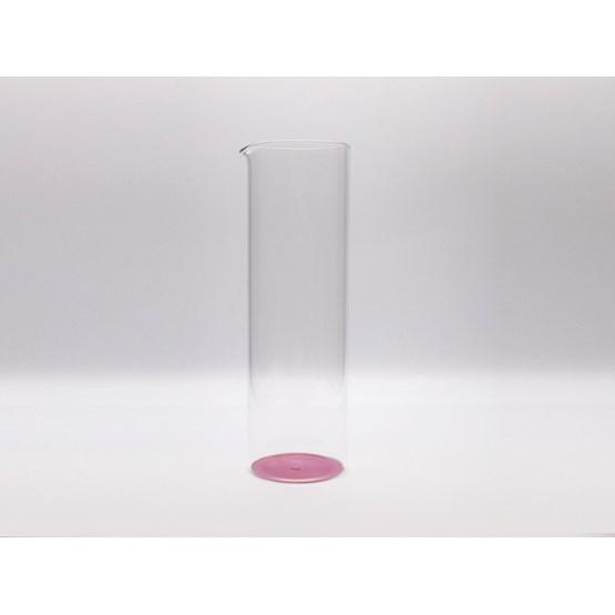 Pitcher IRIDE 75cl - pink - Design : KANZ Architetti