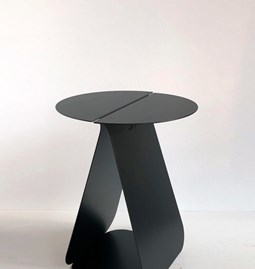 Round table YOUMY - anodic black