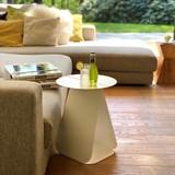 Table YOUMY ronde symétrique blanc mat 6