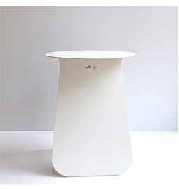 Round table YOUMY - lacquered white