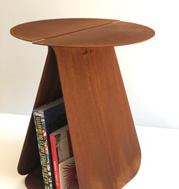 Round table YOUMY - corten steel