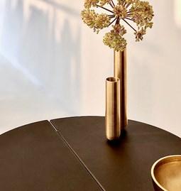 Vase SOLIFLORE - laiton doré