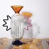 Vase en verre soufflé main Arabesque #02 3