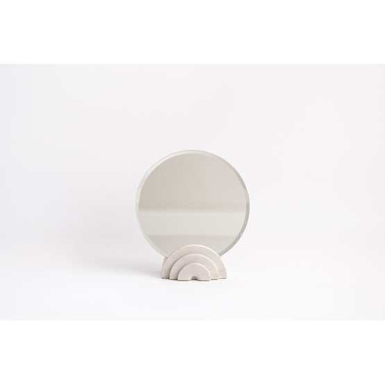 Miroir de table finition marbre - blanc - Design : Extra&ordinary Design