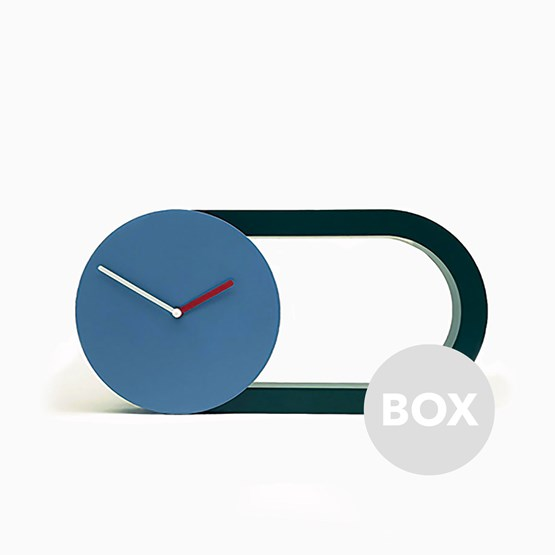 Horloge 360° - Box 56 - Design : Marta Bakowski
