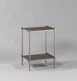 Regula cocktail table - métal tanné finish