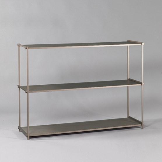 Regula console table - métal tanné finish - Design : L'Alufacture
