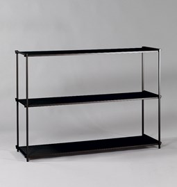 Regula console table - noir obscur finish