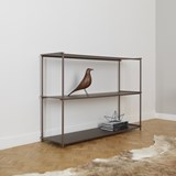 Regula console table - grey neutral finish 3
