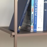 Regula console table - grey neutral finish 4