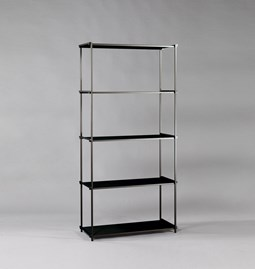 Regula bookshelf - noir obscur finish