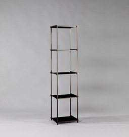 Regula column bookshelf - noir obscur finish