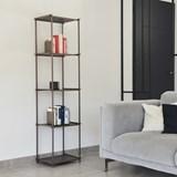 Regula column bookshelf - noir obscur finish 3