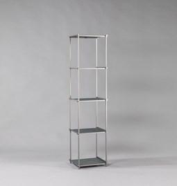 Bibliothèque colonne Regula - Finition Gris Neutral