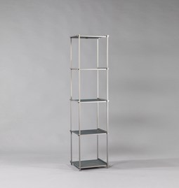 Regula column bookshelf - gris neutral finish
