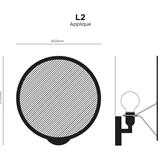 Paper wall lamp L2 7