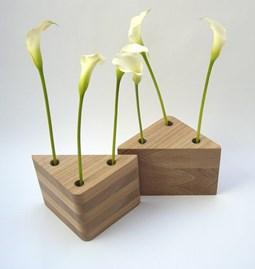 Duo de vases TRAMEZZINI - orme naturel