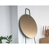 Miroir sur pied échelle LOOK - finition bronze 2