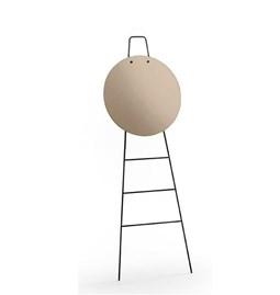 LOOK standing mirror & ladder - copper finish