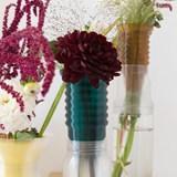 Half vase mimo  - model 1 - green emerald 5