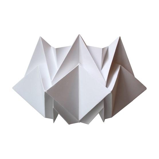 KABE wall lamp in paper - Design : TEDZUKURI ATELIER