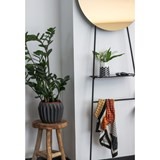 LOOK standing mirror with shelf - bronze finish 4