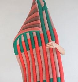 """Module multicolore en laine """"Le tricot"""""""
