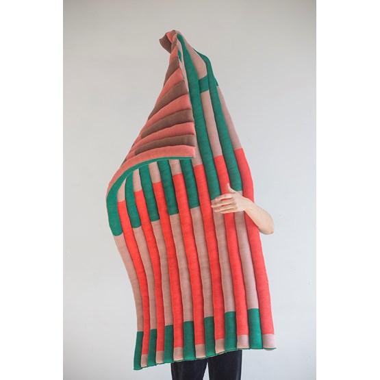 """Module multicolore en laine """"Le tricot"""" - Design : AMGS"""