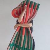 """Module multicolore en laine """"Le tricot"""" 5"""
