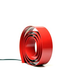 Amonita lamp - ruby red