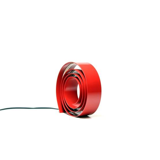Amonita lamp - ruby red - Design : Hugi.r