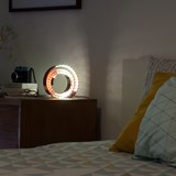 Amonita lamp - ruby red 5
