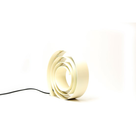 Amonita lamp - light ivory - Design : Hugi.r