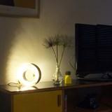 Amonita lamp - yellow melon 6