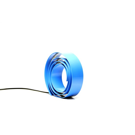 Amonita lamp - blue sign - Design : Hugi.r